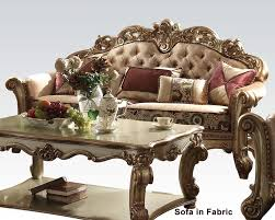 Furniture Sofa Set Furniture Sofa Vendome Gold Ac530s