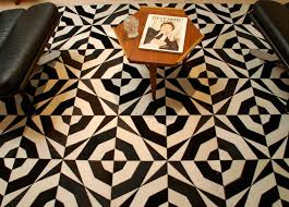 Black And White Floor Rug Interior Black And White Rug For Minimalist Home Design Luxury