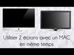 Meme Temps - utiliser 2 礬crans avec un mac en m礫me temps ajout d un moniteur