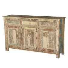 furniture accent cabinets distressed sideboard gold credenza