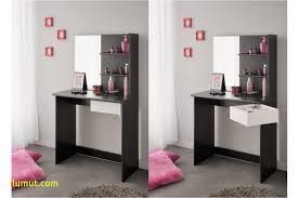 banc tiroir coiffeuse chambre ado blanche et novomeuble