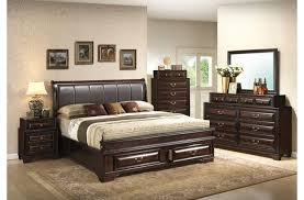 King Size Leather Headboard Bedroom Best King Size Bedroom Sets With Black Leather Headboard