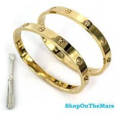love bracelet gold plated images Cartier 18 k gold rose gold plated platinum love bracelet with jpg