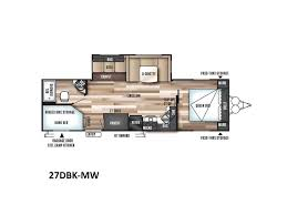 Wildwood Trailers Floor Plans 2018 Forest River Wildwood 27dbk Crestview Fl Rvtrader Com