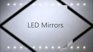bathroom mirrors with lights youtube