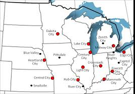 Map Of Usa With Major Cities by Map Of Usa With States And Cities Map Of Usa With States And List