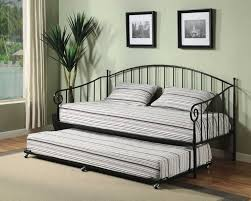 modern grey wall metal bed frame design that can be decor with