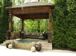 Gazebo Ideas For Patios by Outstanding Modern Patio With Gardening Ideas Exterior Bendut