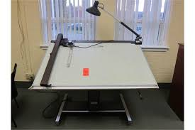 Hamilton Electric Drafting Table with Hamilton Vr20 60
