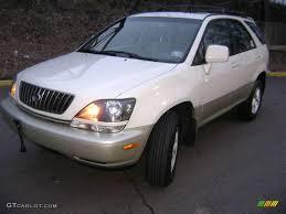 gold lexus rx 1999 golden white pearl lexus rx 300 awd 25632034 gtcarlot com