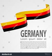 Germman Flag German Flag On White Background Abstract Stock Vector 621957311
