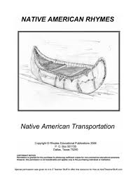 native american rhymes printable resources a to z teacher stuff