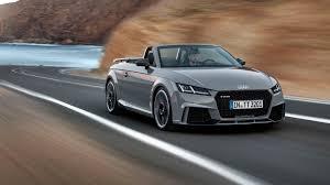 subaru rsti coupe big power little car 2017 audi tt rs coupe and roadster roadshow