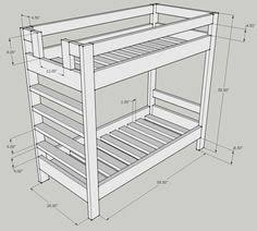 Wood For Building Bunk Beds by 2x4 Projects Google Search Ww Beds Plans Ideas Pinterest