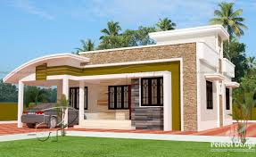 100 kerala house plans single floor 1291 square feet one
