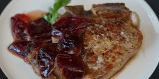 pork chops with plums oregonian recipes