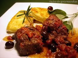 cuisiner le sanglier sanglier aux olives et galettes de polenta péché de gourmandise