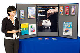 table top banners for trade shows tabletop exhibit displays portable display boards graphics