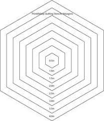 it u0027s a hexi world u2013 a rainbow hexagon world map quilt template