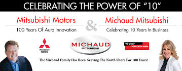 mitsubishi motors logo michaud mitsubishi your danvers feel good mitsubishi dealership
