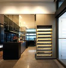 traditional wine cellarkitchen glass floor cellar door kitchen