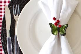 craft festive napkin ring ideas the lettered cottage