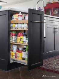 Kitchen Cupboard Organizer 56 Examples Common Upper Cabinet Pull Out Spice Rack Sliding