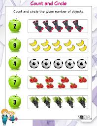 counting ukg math worksheets page 3 maths ks1 count the objects