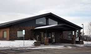 beaverhead deerlodge national forest offices front of the supervior s and dillon district office building and parking lot