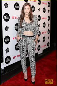 a1 bentley before lipo hailee steinfeld performs at nylon u0027s rebel nyfw party photo