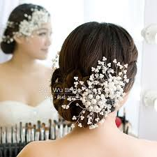 hair accessories for brides free shipping beige white and 3 colors fashion hair