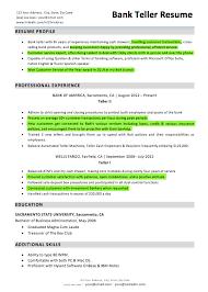 Resume Qualifications For Customer Service Resume Skills For Bank Teller 22 Entry Level Bank Teller Resume