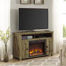 tv stand with electric fireplace tv stand with electric