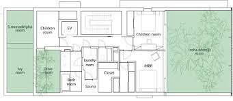 Glass House Floor Plans Hiroshi Nakamura U0026 Nap Optical Glass House