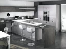 cuisine et grise cuisine moderne grise cuisine grise et bois inspirations avec