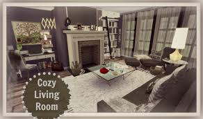 cozy livingroom sims 4 cozy living room