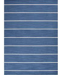 cape cod stripe flat weave rug denim u2013 high street market