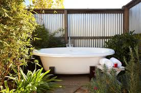 Hotels With Large Bathtubs Hotels With Heavenly Outdoor Baths U0026 Showers The Visit Napa