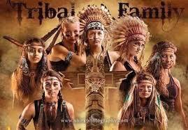 h s team draws social media for tribal family poster
