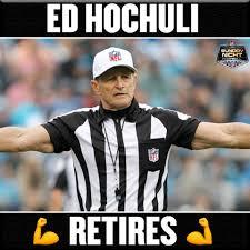 Ed Hochuli Meme - flex on em hochuli longtime nfl sunday night football
