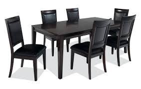 black and white kitchen table cheap white dining table matrix 7 piece dining set cheap white gloss