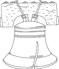 liberty bell coloring pages batch coloring