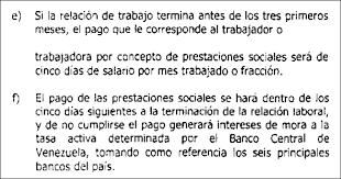 calculo referencial de prestaciones sociales en venezuela garantía y cálculo de prestaciones sociales asesor legal virtual