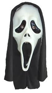 Glow Dark Halloween Costumes Scream Mask Glow Dark Halloween Party Mask
