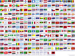 all flags of the world poster