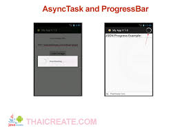 asynctask android exle asynctask and progressbar