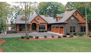 craftsman house plans with walkout basement baby nursery lake cottage plans lake house plans walkout