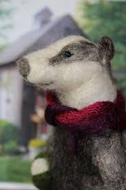 55 best badgers images on badger needle felting and