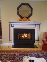 fireplace hearth stone slab interior design