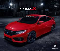 2014 Honda Civic Si Sedan Specs Our 2016 Honda Civic Si Coupe Preview Render Images 2016 Honda
